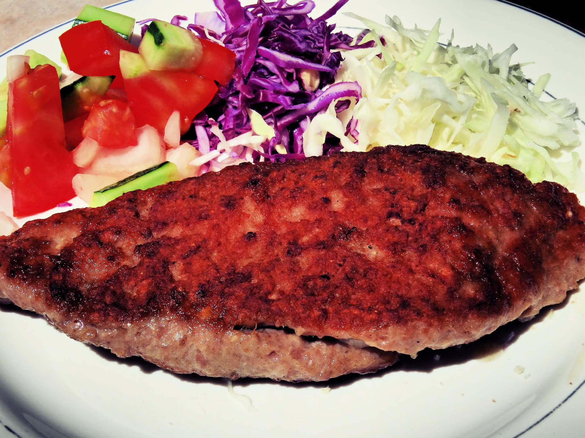 Best Balkan Food Pleskavica