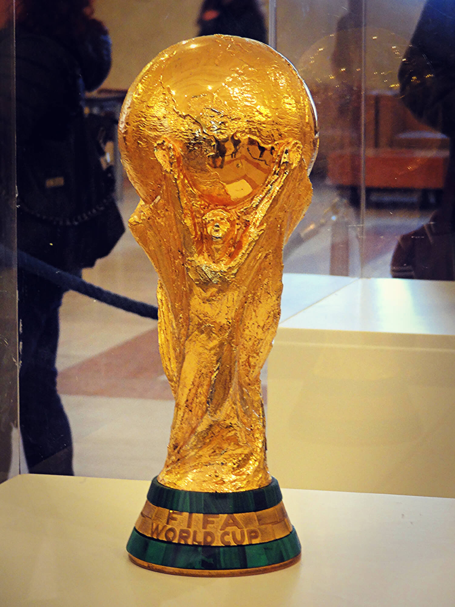 Visiting the Fifa World Cup Trophy might be one of your top things to do in Zürich!