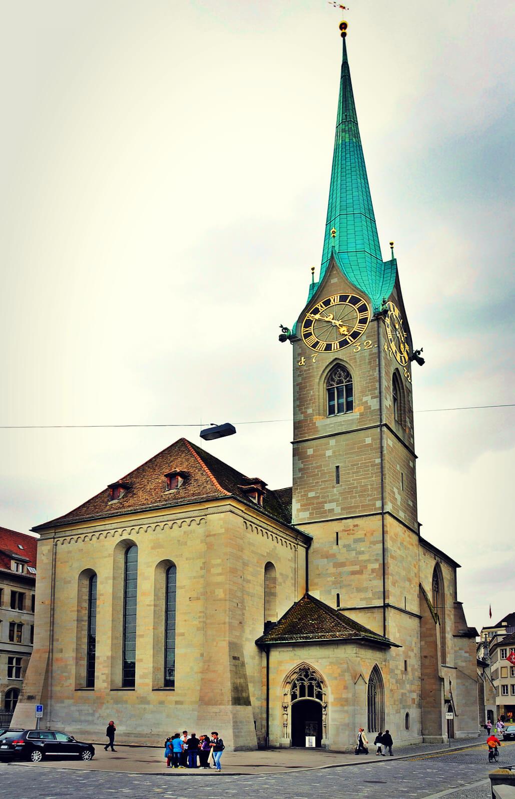 Fraumünster Church in Zurich